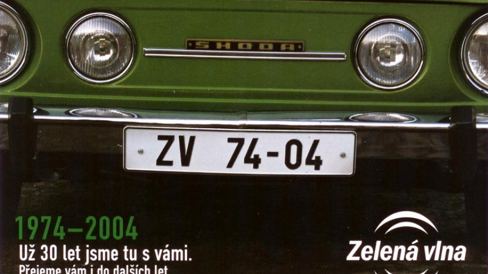 Rok 2004, zde bylo poprvé použito nové logo Zelené vlny, které se v dalším roce rozšířilo o varianty a Zpravodaje