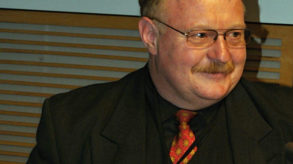 Nejaktivnější Zpravodaj Zelené vlny za rok 2011 L. Šedivý byl přímo ve vysílání Radiožurnálu