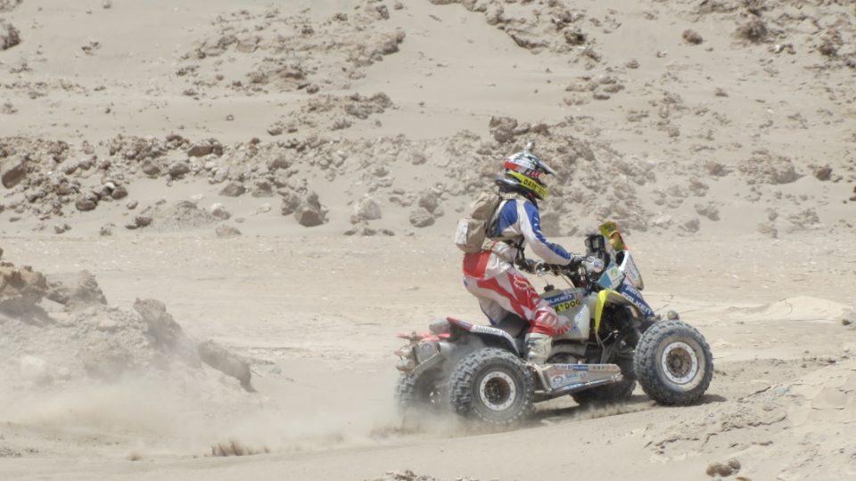 Čtyřkolkářům vyhovují spíš duny