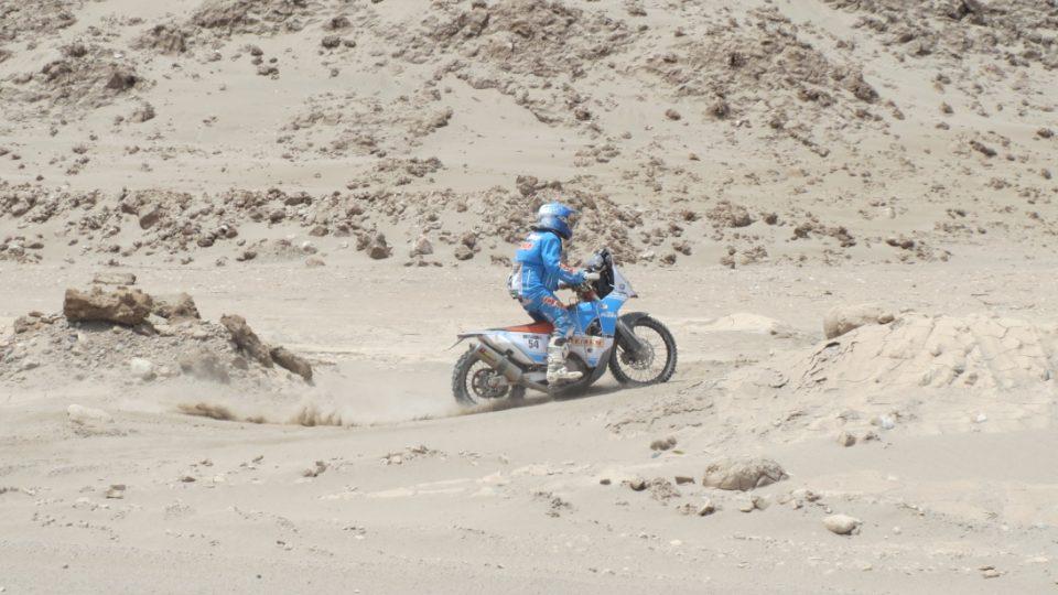 Guatemalec Arrendo v poušti Atacama