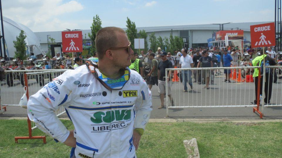 David Pabiška se ohlíží za Dakarem 2015