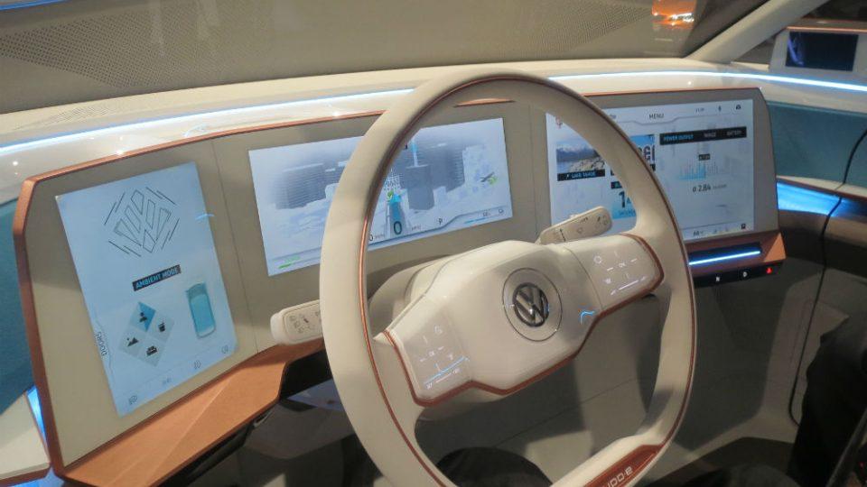 Koncept Volkswagen BUDD-e