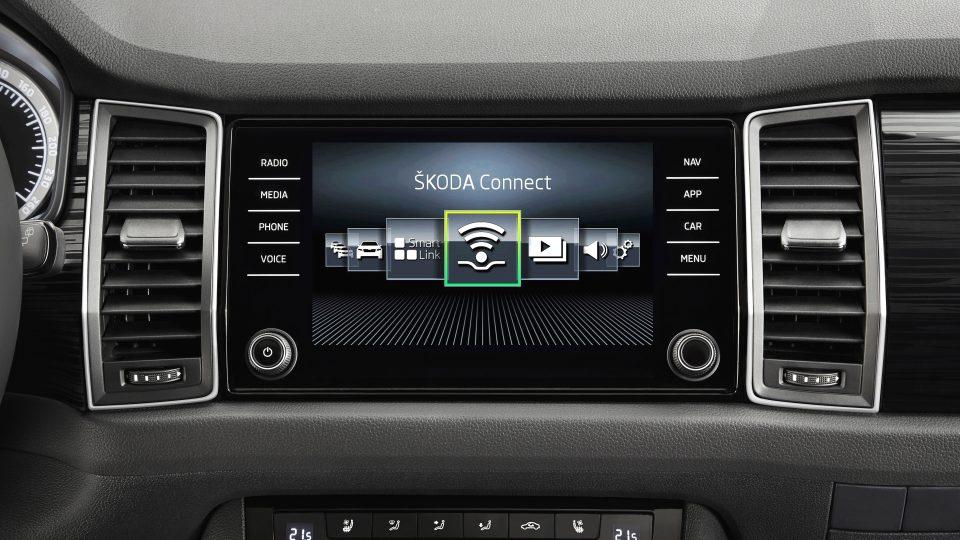 Škoda Kodiaq: interiér nakonec nepůsobí tak futuristicky, jak slibovaly studie